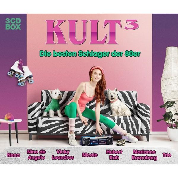 Kult3 - Die Besten Schlager Der 80er