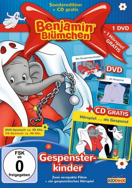 Benjamin Blümchen - Die Gespensterkinder/... als Gespenst (+ CD)