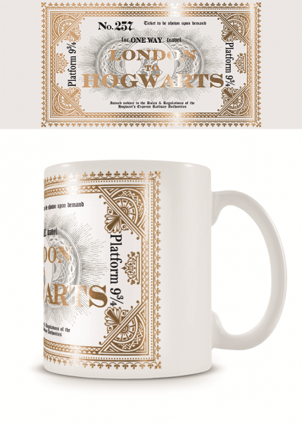 Tasse Harry Potter (Hogwarts Express Ticket)
