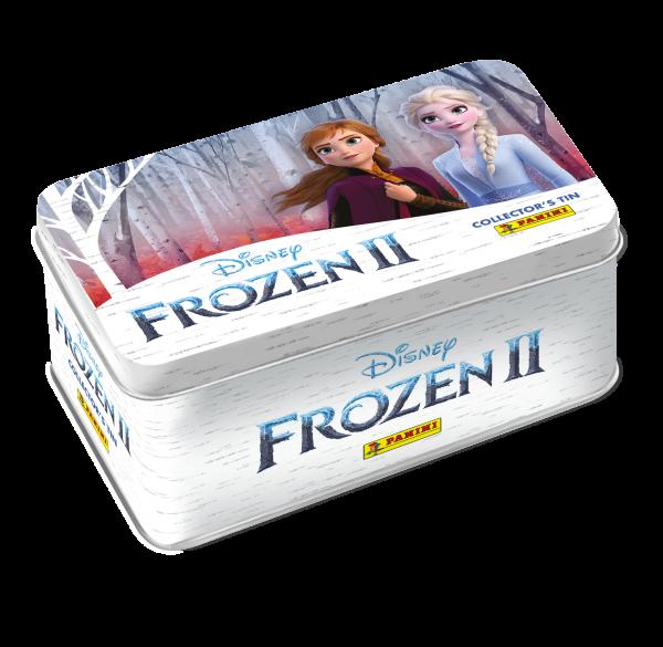 Panini Disney Frozen Eiskönigin Metallbox, 40 Karten (4 Stück Limitierte Edition) Trading-Cards