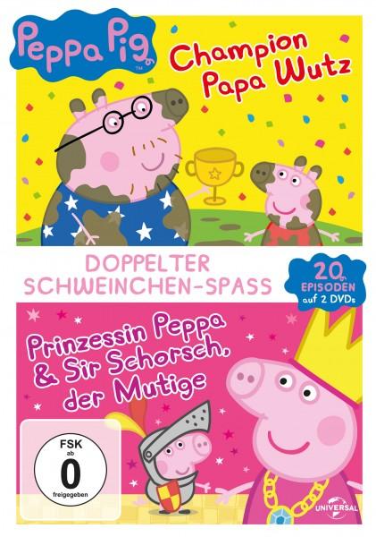 Peppa Pig - Champion Papa Wutz & Prinzessin Peppa