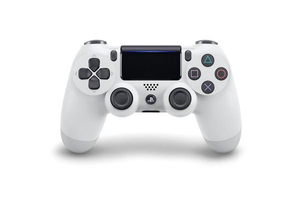PS4 - Dualshock 4 Wireless-Controller V2 (Glacier White) - ZB-PS4