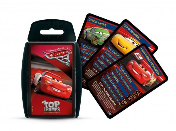 TOP TRUMPS - DISNEY CARS 3