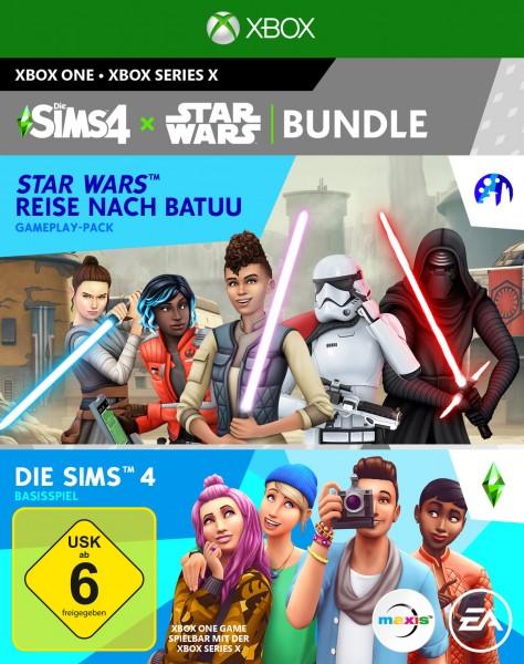 Die Sims 4 + Star Wars: Reise nach Batuu Add-On (CIAB) Bundle - Konsole XBox One