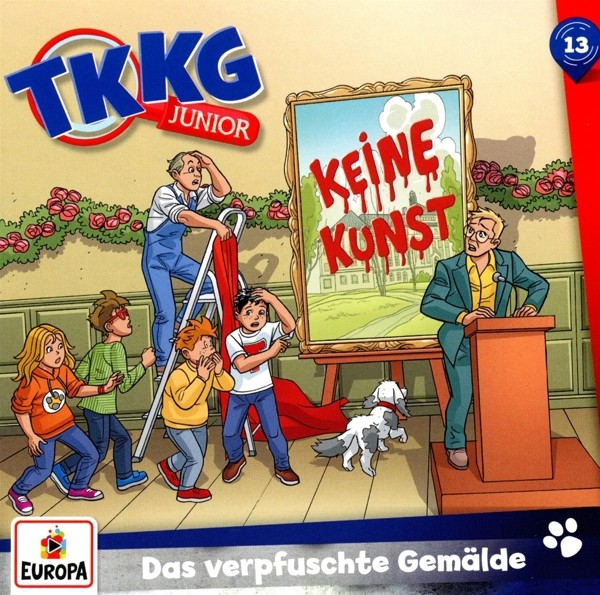 TKKG Junior - 013/Das verpfuschte Gemälde