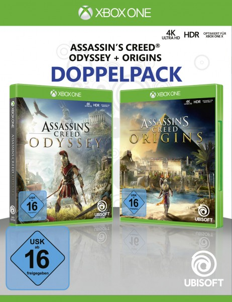 Assassin's Creed Odyssey + Assassin's Creed Origins (Bundle)