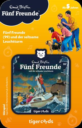 tigercard - Fünf Freunde (99): Und der seltsame Leuchtturm