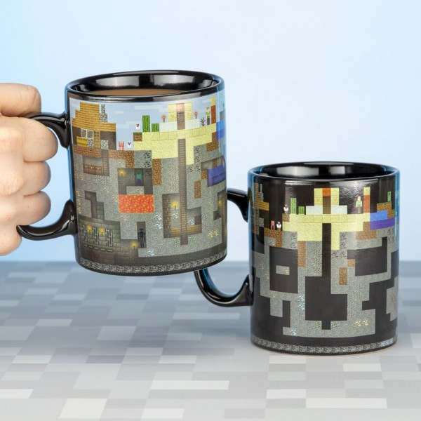Tasse Minecraft (Thermoeffekt)