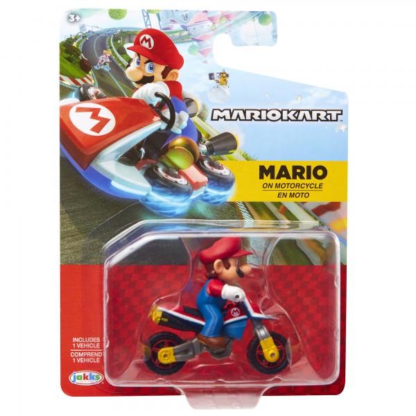 Figur Nintendo Racers Mario + Motorrad