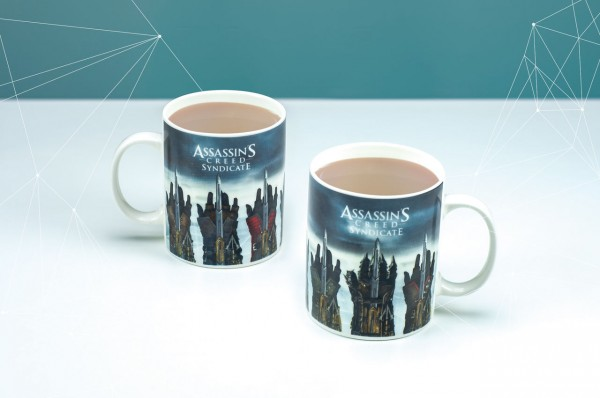 Paladone Assasin's Creed Tasse, Keramik, Multi, 12 x 8 x 10 cm