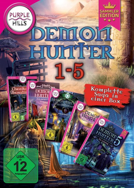 Purple Hills - Demon Hunter 1-5