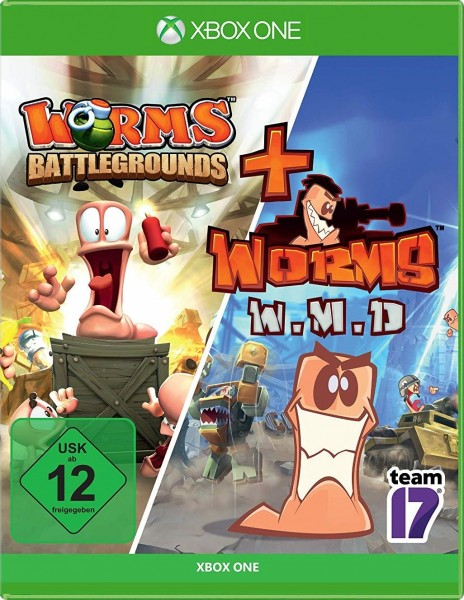 Worms Battlegrounds + Worms W.M.D. All-Stars