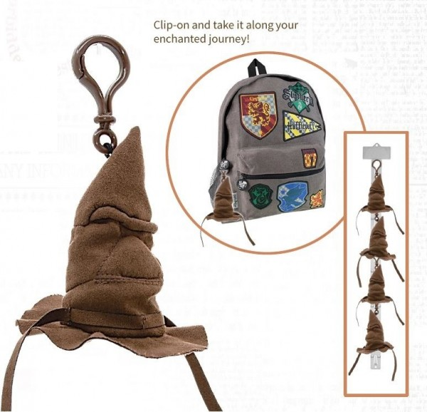 """Schlüsselanhänger Harry Potter """"sprechender Hut"""" (MIT SOUND)"""