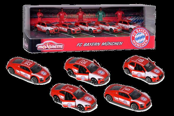 Majorette FC Bayern Cars Geschenkset (5 teilig)