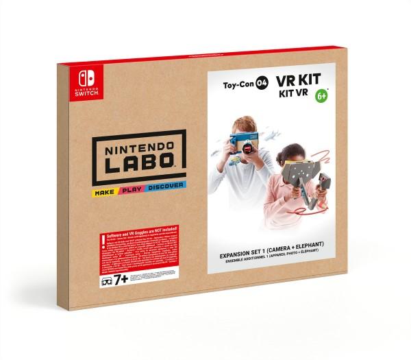 Nintendo Labo - Toy-Con 04 VR-Kit Erweiterungspaket 1 (Kamera + Elefant)
