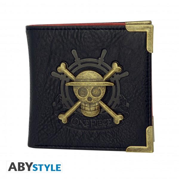 ABYstyle - One Piece - Geldbörse - Logo Luffy Skull