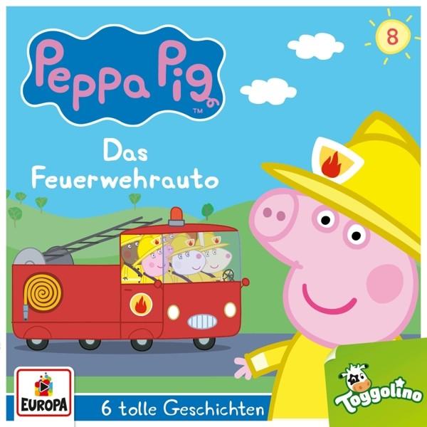 Peppa Pig Hörspiele - 008/Das Feuerwehrauto (und 5 weitere Geschichten)