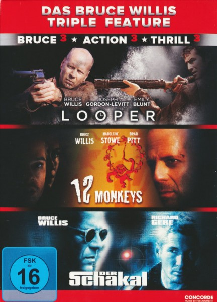 Das Bruce Willis Triple Feature [3 DVDs]