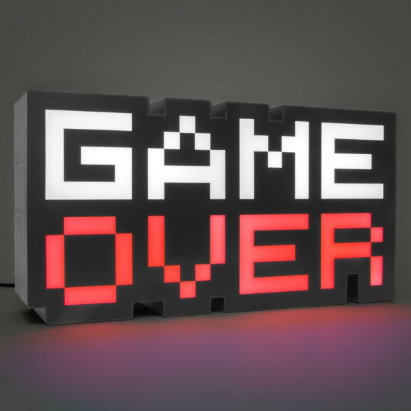 Game Over Lampe