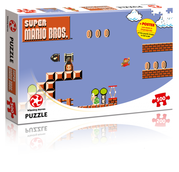 Puzzle - Super Mario High Jumper (500T.)