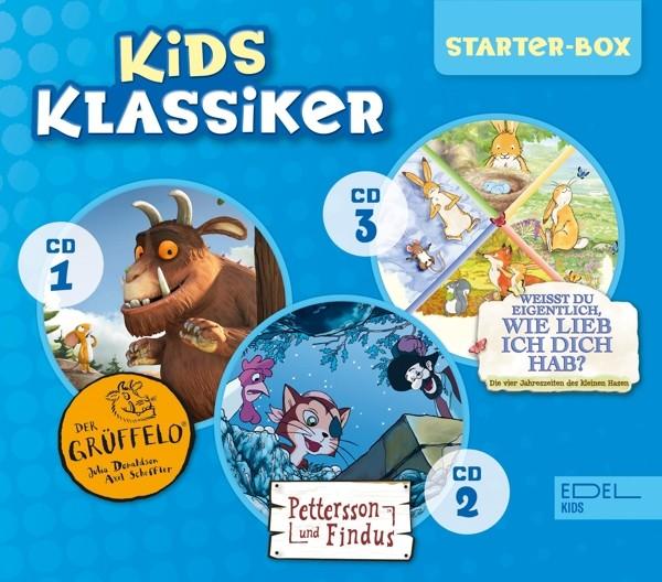 Kids Klassiker-Starter-Box (Der Grüffelo/Pettersson und Findus/Weißt du eigentlich, wie lieb ich dic