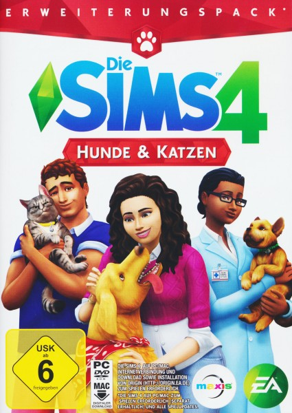 Die Sims 4 - Hunde & Katzen (Add-On) (CIAB)