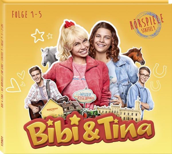 Bibi & Tina - Hörspiele zur Serie - Staffel 1, Folge 1-5