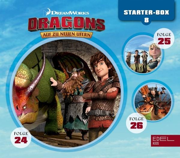 Dragons - Auf Zu Neuen Ufern - Starter-Box-8 - Folge 24, 25 und 26