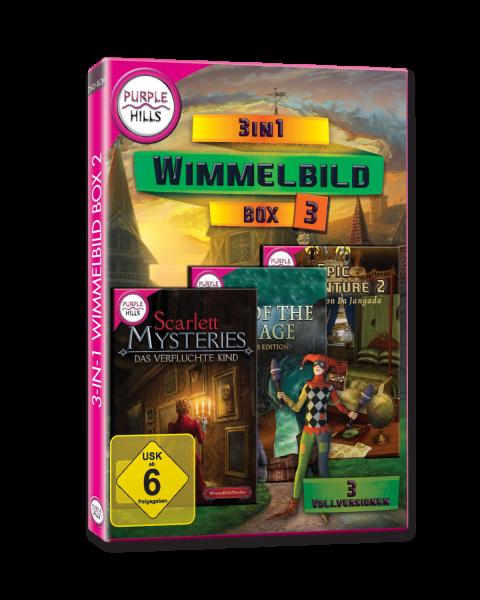Purple Hills: 3-IN-1 Wimmelbild Box 3