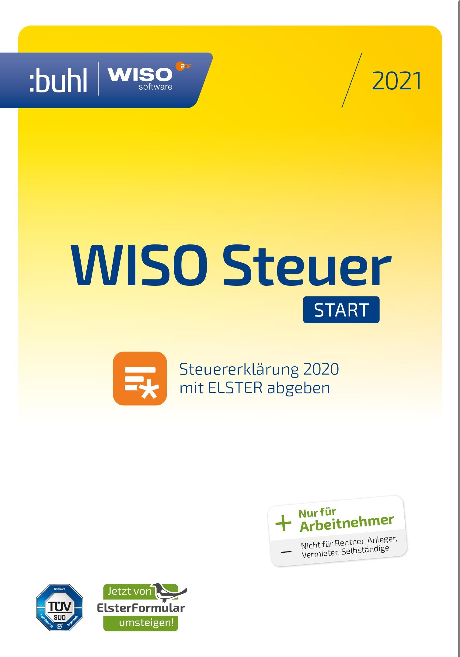 WISO STEUER: START 2021 | Anwendersoftware | Software ...