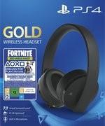 PS4 - Wireless Headset 7.1 Gold - Black Edition: Fortnite Neo-Versa-Bundle