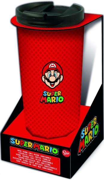 Reisebecher Super Mario (Thermo/Edelstahl)