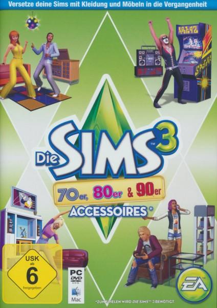 Die Sims 3 - 70er, 80er & 90er-Accessoires (Add-On) (PC+MAC)