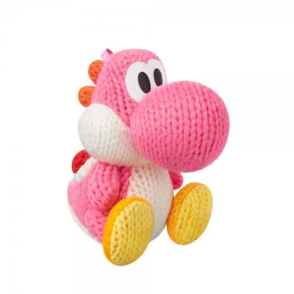 amiibo Figur Woll-Yoshi Pink