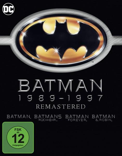Batman 1-4 - Remastered [4 BRs]