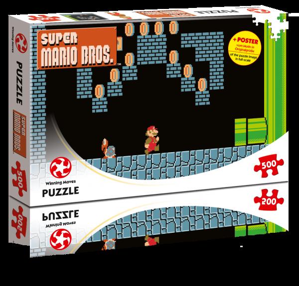 Puzzle - Super Mario Underground Adventures (500T)
