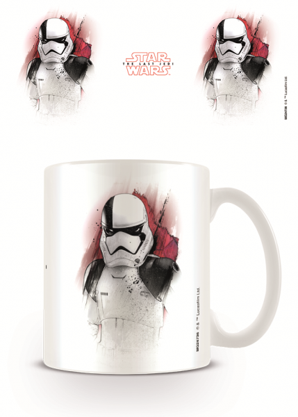 Tasse Star Wars - The Last Jedi (Trooper Brushstroke)