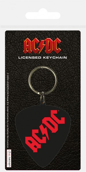 Schlüsselanhänger AC/DC (Plectrum)