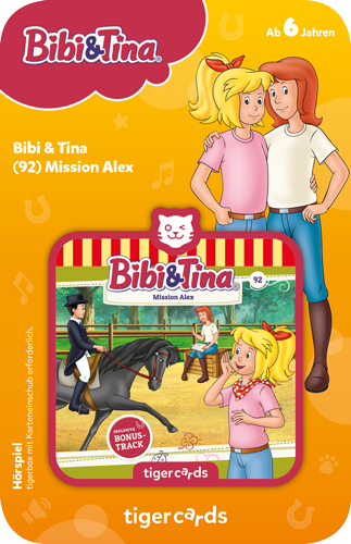 tigercard - Bibi & Tina (92): Mission Alex