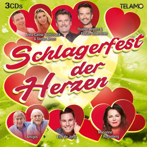 Schlagerfest der Herzen (3 CD's)