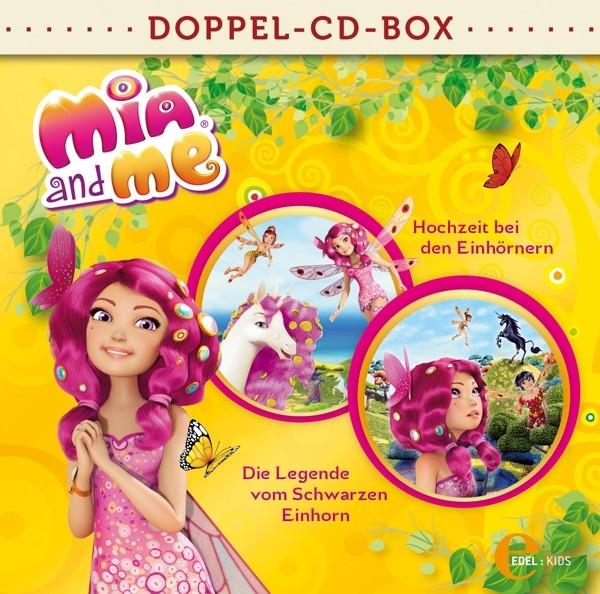 Mia And Me - Mia and me-Doppel-Box-Zwei Hörspiele zum Buch