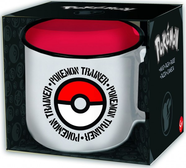 Tasse Pokemon Trainer Pokeball
