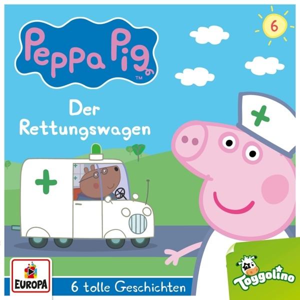 Peppa Pig - 006/Der Rettungswagen (und 5 weitere Geschichten)