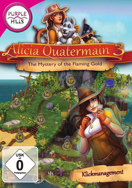 Purple Hills - Alicia Quatermain 3 - The Mystery of the Flaming Gold