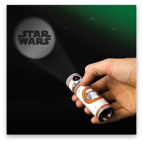 Schlüsselanhänger Star Wars BB8 (mit Taschenlampe)