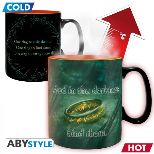 Becher - Lord of The Ring - Mug Heat Change 460 ml Sauron