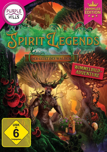 Purple Hills - Spirit Legends - Geist des Waldes