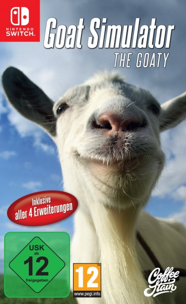 Goat Simulator- The Goaty