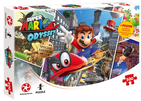 Puzzle - Super Mario Odyssey (500T.)