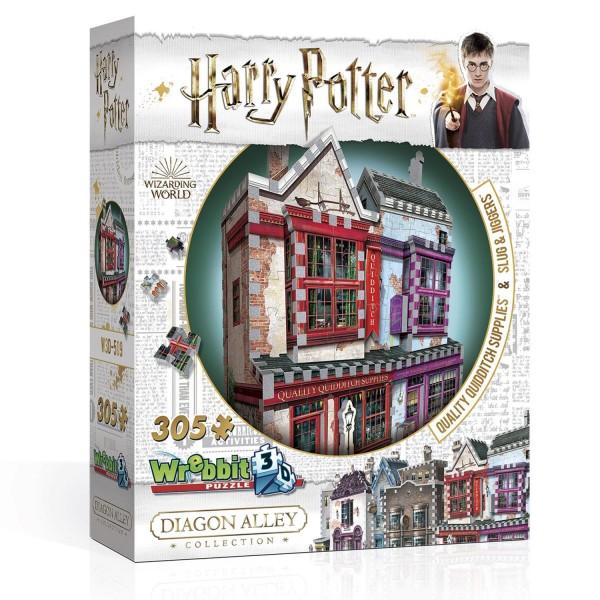 Qualitäts Quidditch Shop & Apotheke - Harry Potter / Quality Quidditch Supplies